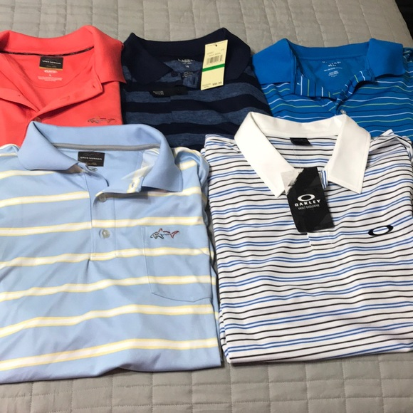 Greg Norman Collection Other - Lot of 5 men's golf shirts wholesale large #9